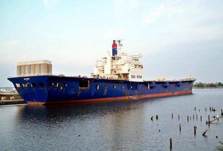 El Faro pictured laid up in Baltimore in 2010.