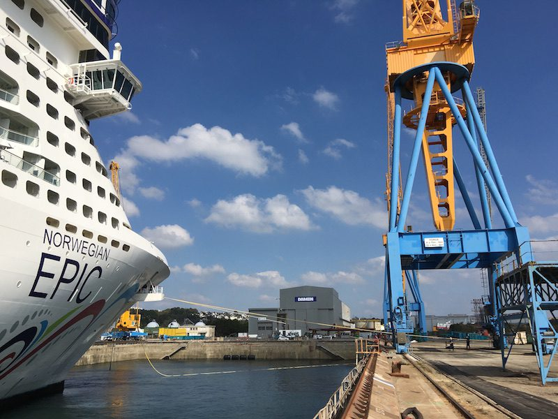 Norwegian Epic - Damen Shiprepair Brest