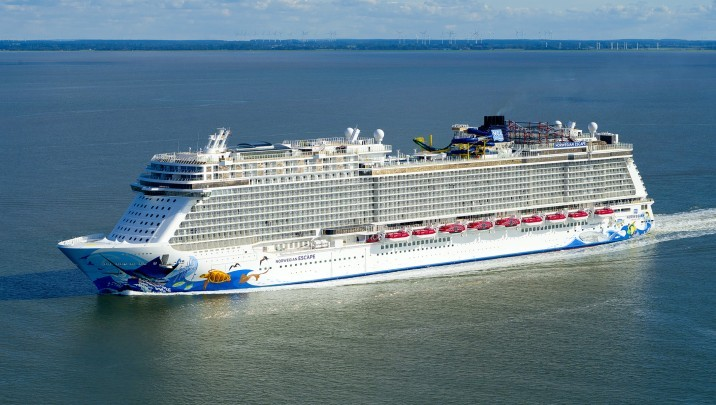 Norwegian Escape. Photo: Meyer Werft