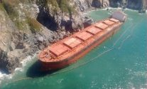 Hard Aground – Abandoned Ship Threatens Mexican Coast