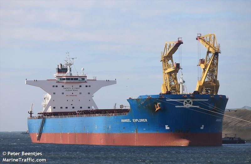 MV Anangel Explorer. Photo: MarineTraffic.com/