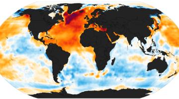 NOAA Ocean Warming