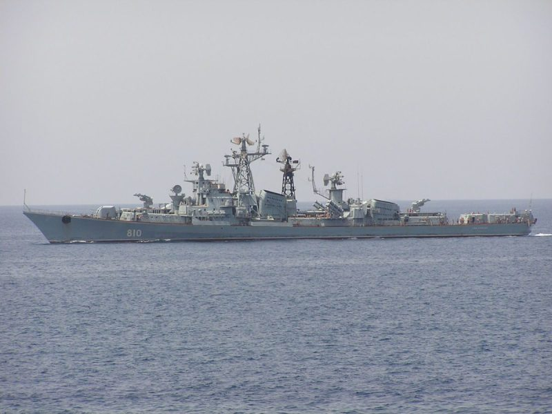 Russian destroyer Smetlivyy. File photo: Creative Commons