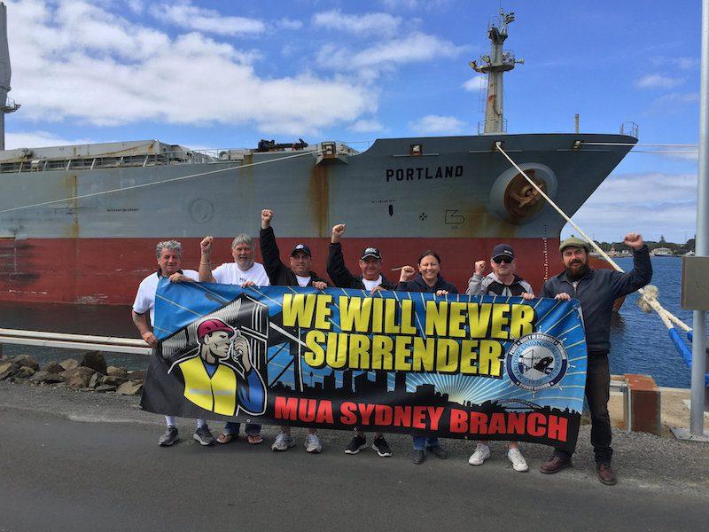 Photo: Maritime Union of Australia