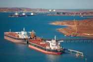 Iron Ore Exports From Australia's Biggest Port Climb