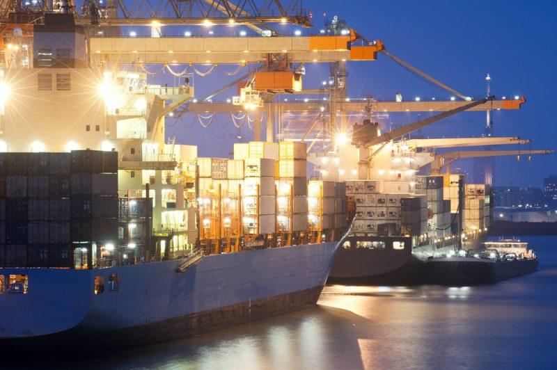 Ships at Rotterdam port. Photo credit: Shutterstock/Corepics VOF