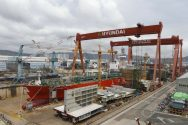 Hyundai Heavy Posts Biggest Profit in 3 Years on Cutting Costs