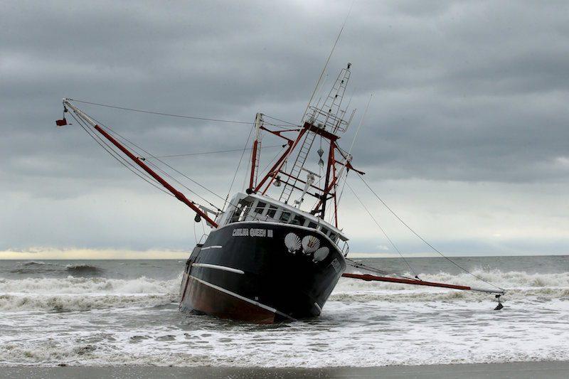 The boat Carolina Queen III is seen at Rockaway, New York February 25, 2016. REUTERS/Eduardo Munoz