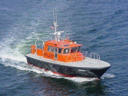 The Boston Harbor Pilot Association pilot boat, Chelsea. File photo: Boston Harbor Pilot Association