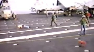WATCH: Three Little Pigs Prank Aboard USS Kennedy