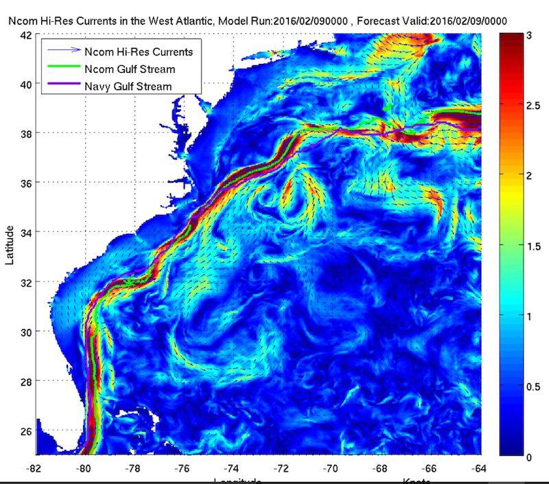 NOAA Gulf Stream Forecast