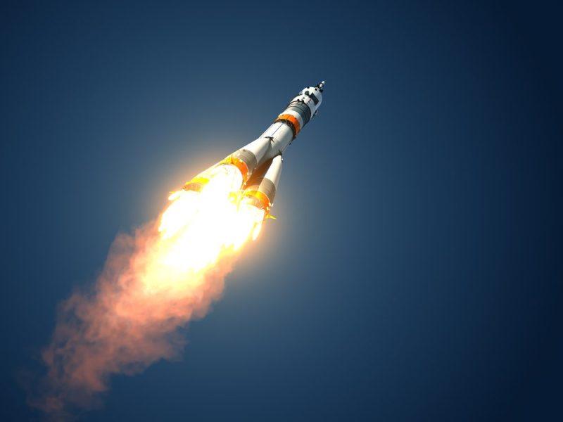 Fake rocket. Image credit: Shutterstock/3Dsculptor