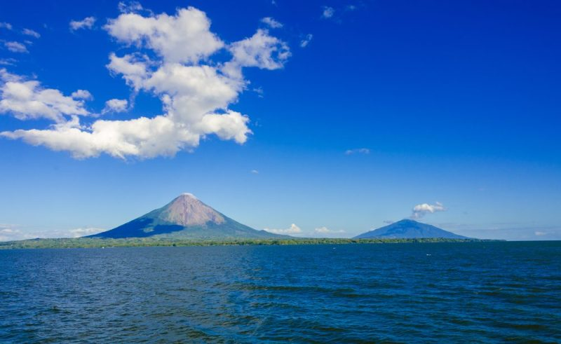The proposed route for the Nicaragua Canal has the planned waterway cutting through Lake Nicaragua. Photo credit: Shutterstock/Simon Dannhauer