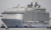 Ship Photos of the Day – Largest Cruise Ship Ever Built Begins Sea Trials