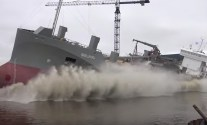 WATCH: World's Second LNG-Powered Dry Cargo Ship, MV Ireland, Launched at Ferus Smit