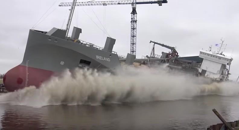 ireland launch ferus smit