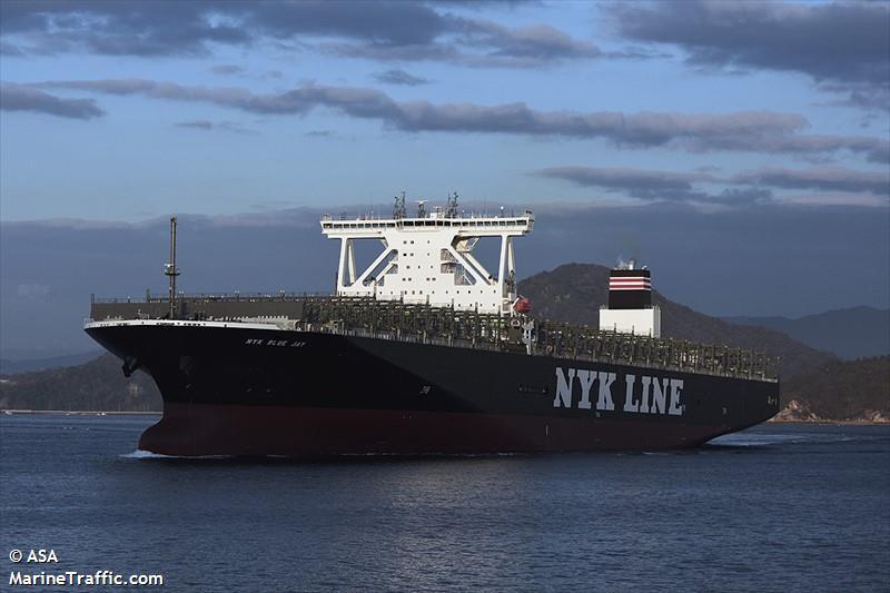 MV NYK Blue Jay