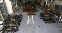 Australian Navy Seizes Huge Weapons Cache Off Somalia