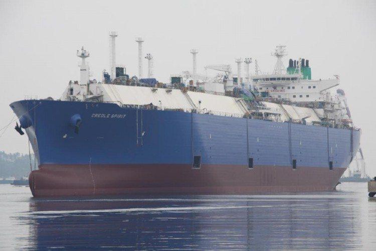 LNG carrier Creole Spirit. Photo: Teekay