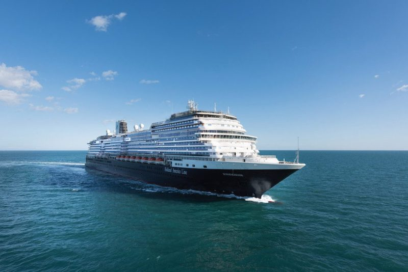 MS Koningsdam sea trials. Photo: Holland America