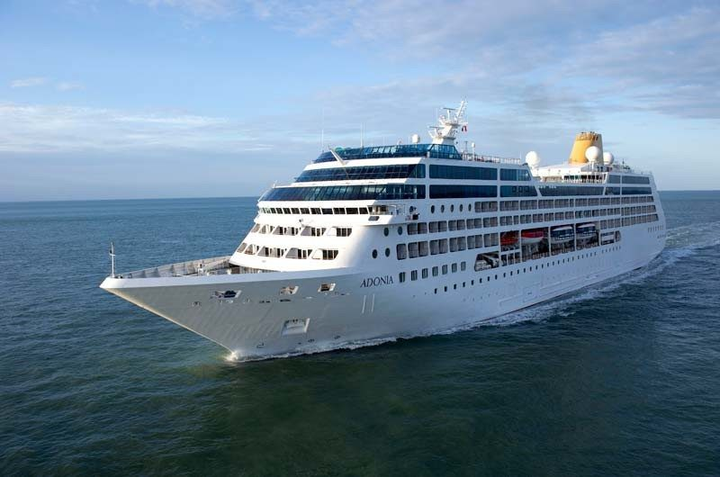 Fathom Cruises MS Adonia will make the first voyage beginning May 1. Photo credit: Fathom Cruises
