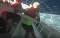 Terrifying Video Shows Moment a Tourist Catamaran Capsized and Sank Off Costa Rica – GRAPHIC