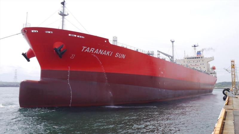 MV Taranaki Sun. Photo credit: Waterfront Shipping