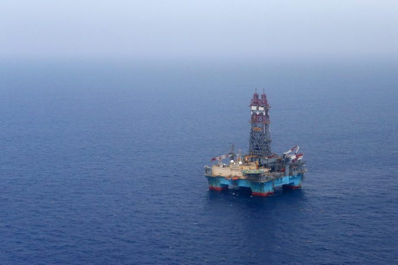 A semisubmersible drilling rig in the Gulf of Mexico. Credit: Statoil