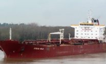 Tanker Carrying Vegatable Oil Aground Off Uruguay