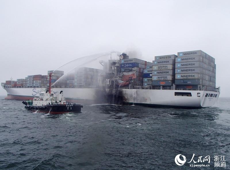 Safmarine Meru pictured Monday, May 9.
