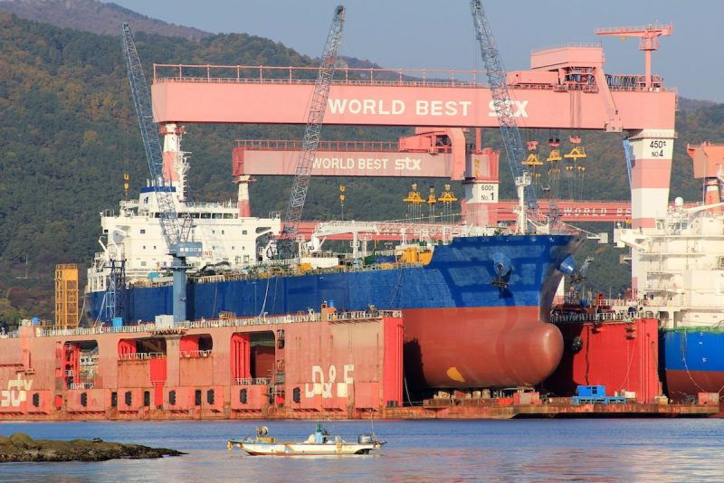 STX's Jinhae shipyard. Photo: Lappino