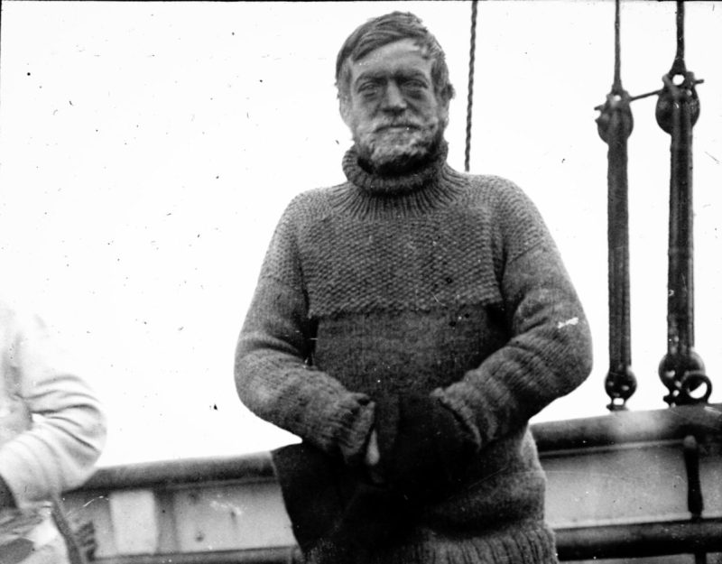 Captain Ernest Shackleton