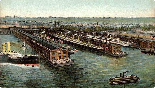 North German Lloyd Co. Piers, Hoboken