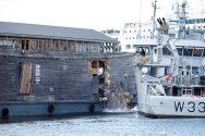 Noah's Ark Crashes Into Coast Guard Vessel… You Read That Right