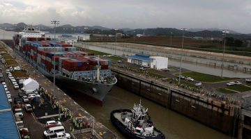 Photos: Test Transits Continue as Panama Prepares for Opening of Expanded Canal
