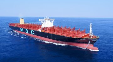 Record-Breaking MAN B&W Engine Debuts Aboard Ultra-Large Containership