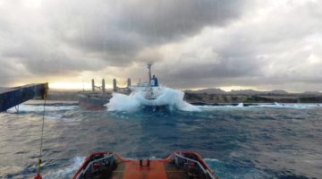 Salvage Continues for Wrecked Cargo Ship in Mauritius