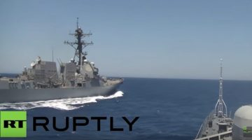 Russia: U.S. Destroyer Came 'Dangerously Close' to Russian Warship – See the Video
