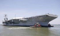 The U.S. Navy's New $12.9 Billion Carrier Isn't Ready for Warfare