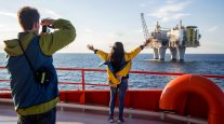 A Summer Cruise to North Sea Oil Rigs Amazes Tourists