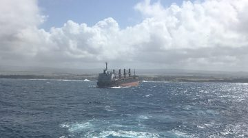 Tow to Alang Shipbreakers Proving Troublesome for Wrecked MV Benita