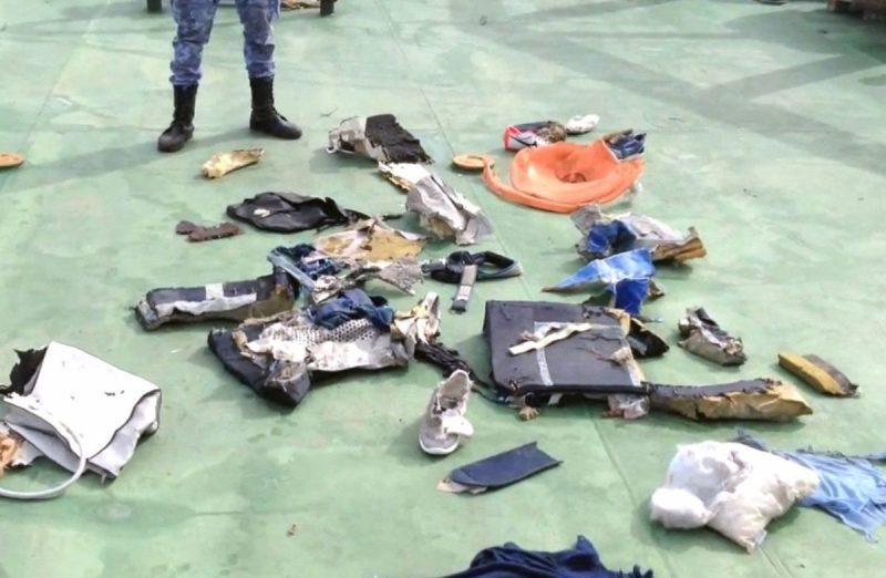 EgyptAir MS804 debris