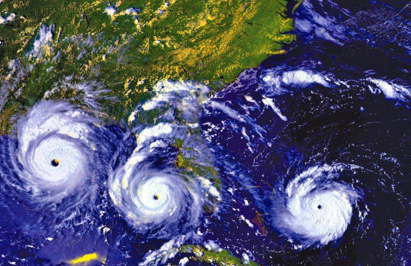 Hurricane Andrew Progression