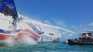 Ferry Fire – Hundreds Plucked From Burning Puerto Rico Ferry
