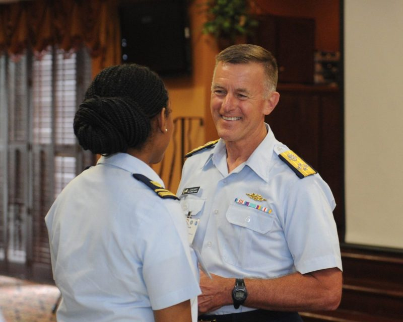 Coast Guard Commandant Admiral Paul Zukunft