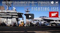 360° Video Aboard Aircraft Carrier USS Harry S Truman
