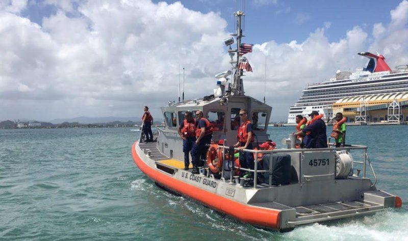 USCG Puerto Rico Ferry Rescue