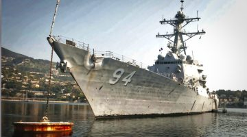 Watch: Iranian High-Speed-Attack-Boats Swarm US Destroyer