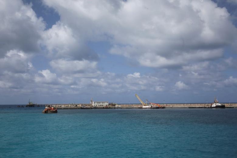 A general view of the Zueitina oil terminal in Zueitina, west of Benghazi April 7, 2014. REUTERS/Esam Omran Al-Fetori