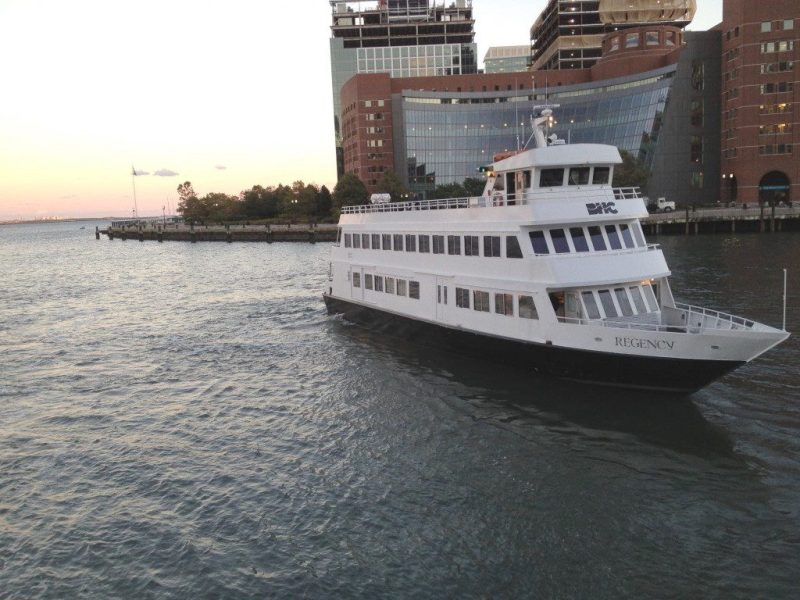 The Boston Harbor Cruises boat Regency. Photo: Boston Harbor Cruises